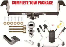 2011 2014 Chrysler 300 & 300 C Trailer Hitch + Quick Connect Wiring + Ball + Bar - $212.36
