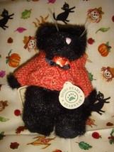 Boyds Bears Fraid E Cat Black Halloween Plush Cat - $23.99