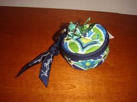 Vera Bradley Daisy Daisy Tiny Traveler Key Fob - $19.49