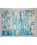 Ocean Abstract Painting 36 x 48 Texture Modern ... - $1,500.00