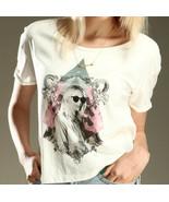 MAISON SCOTCH Crop SHIRT Tee TOP Girl SUNGLASS ... - $69.27