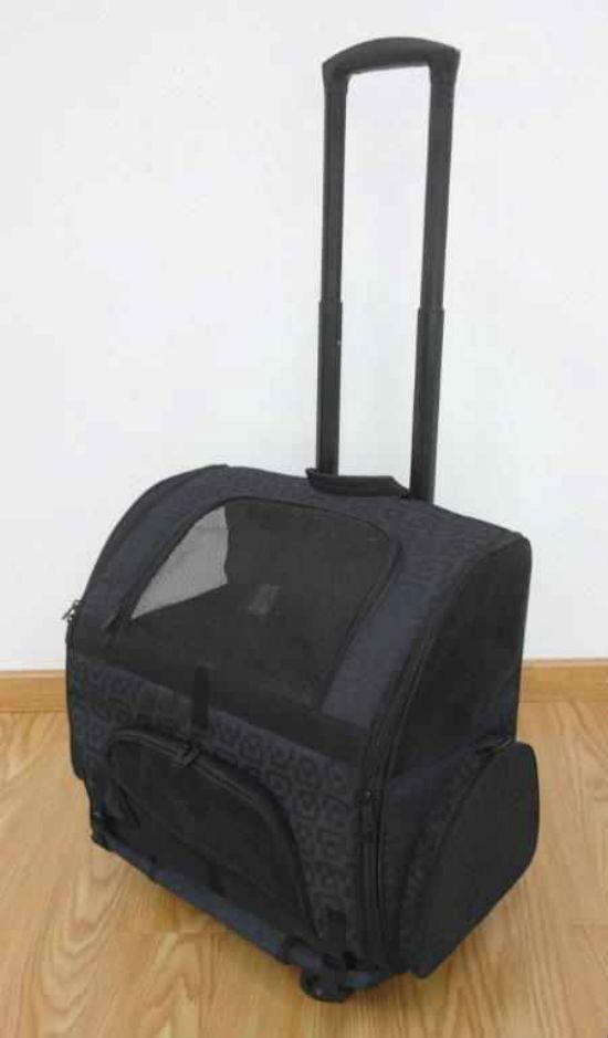 Dog Carrier Pet Rolling Carrier Backpack Back Pack Crate
