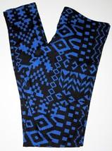 MILKYWAY U.S.A.  LEGGINGS Blue Black ICONIC Sma... - $49.47