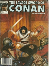 Savage Sword of Conan the Barbarian 146 Marvel Comic Book Magazine Mar 1988 - $1.99