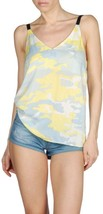 DIESEL Taph TOP Yellow Light Blue CAMOUFLAGE Pr... - $99.97