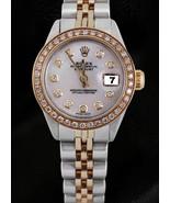 Marcación diamante blanco bisel Rolex Datejust ... - $3,441.42