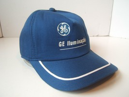 GE Illuminacao Hat Vintage General Electric Blue Snapback Trucker Cap - $15.36