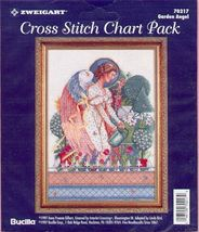 Garden Angel~Cross Stitch Chart  - $7.00