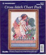 Garden Angel~Cross Stitch Chart  - $7.00