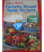 Taste of Home's Favorite Brand Name Recipes 2003 Hardcover - $1.99