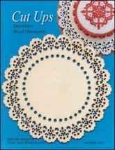Wood Lace Ornament C Cut Up cross stitch finishing accessory Yarn Tree  - $5.00