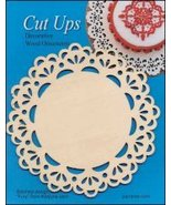 Wood Lace Ornament D Cut Up cross stitch finishing accessory Yarn Tree  - $5.00