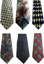Henry Grethel Barrington J Riggings Necktie Tie Silk Lot of 6 Paisley Ge... - €15,06 EUR