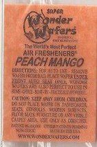16- Wonder Wafers PEACH MANGO~ Scent~Amazingly Fresh~ Air Freshener Home... - $7.69