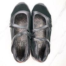 Skechers Shape Ups Mary Jane 7.5 Black Shoes Womens Sneakers Toning Rocker image 5