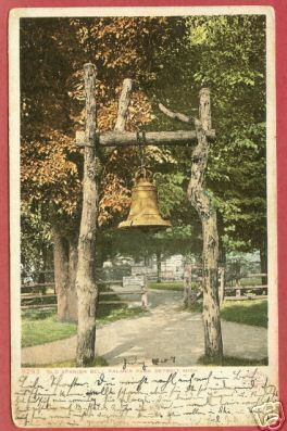 Primary image for Detroit MI Spanish Bell Palmer Pk 1907 UDB Postcard BJs