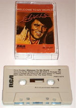 ELVIS WELCOME TO MY WORLD ORIGINAL CASSETTE - $34.64