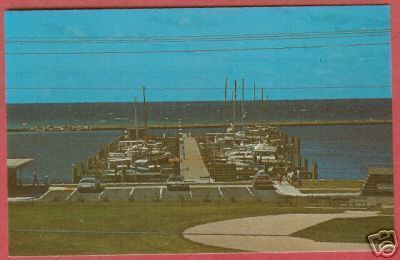 Primary image for Petoskey MI Marina Little Traverse Bob Miles Postcard BJs