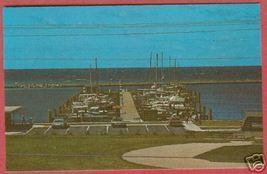Petoskey MI Marina Little Traverse Bob Miles Postcard BJs - $6.00