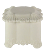 Parian Ware Antique Rococo Covered Box - $175.00