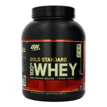 ON (Optimum Nutrition) Gold Standard 100% Whey Protein, 5 lb Coffee - $179.95