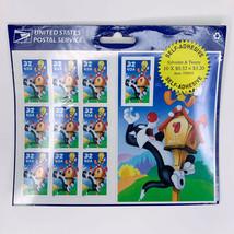 Vintage 1998 Sylvester Tweety Bird USPS sheet 32 cent stamps #558915 Sealed - $12.00