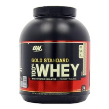 ON (Optimum Nutrition) Gold Standard 100% Whey Protein, 5 lb Rocky Road - $169.95