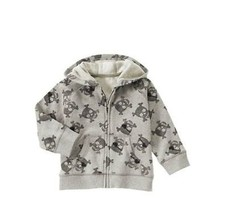NEW Gymboree Size 2T-3T Valentine's Day Hoodie Hoody Jacket Skulls Pirate NWT - $15.79