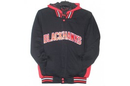 JH Design Chicago Blackhawks Reversible Fleece Jacket  - $84.95