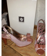 Anne Klein Pink Bow High Heels Size 9 New with Box for Women - $75.00
