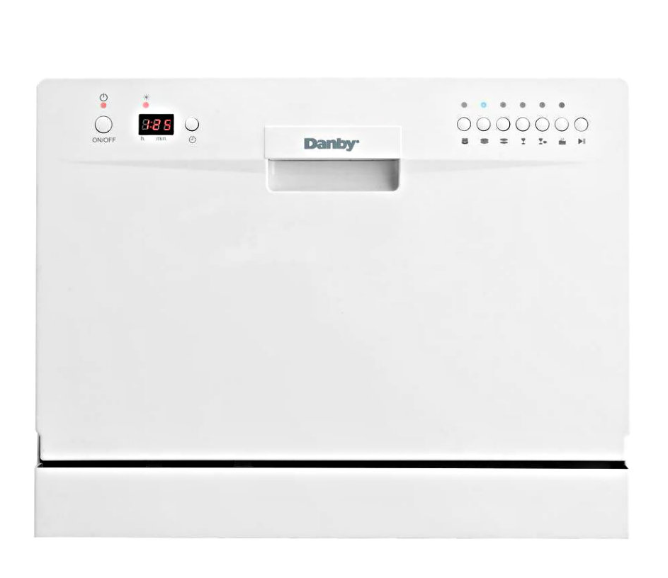 Table Top Dishwasher York : ... Dishwasher Compact Countertop Machine Apartment Dorm Tabletop