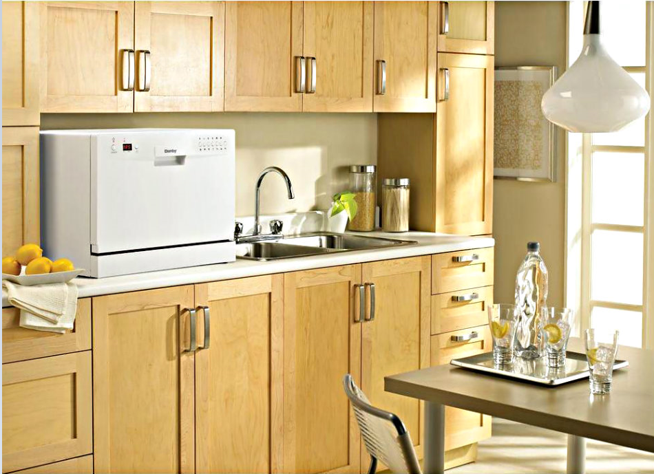 Table Top Dishwasher York : ... Kitchen Dishwasher Compact Countertop Machine Apartment Dorm Tabletop