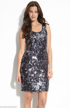 Pisarro Nights Beaded Paillette Sequin Dress - $75.00