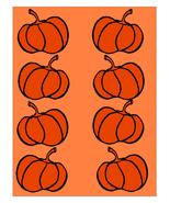 Pumpkin Background2-Digital clipart-Flowers  - $4.00