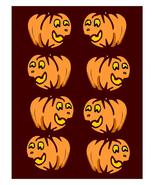Pumpkin Background1-Digital clipart-Flowers  - $4.00