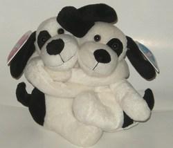 50% off! Floppy Friends Forever Black White Dogs NWT - $3.00