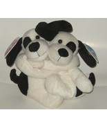 50% off! Floppy Friends Forever Black White Dogs NWT - $3.00