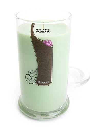 Primary image for Mistletoe Moments Candle - 16.5 Oz. Highly Scented Green Jar Candle - Christmas