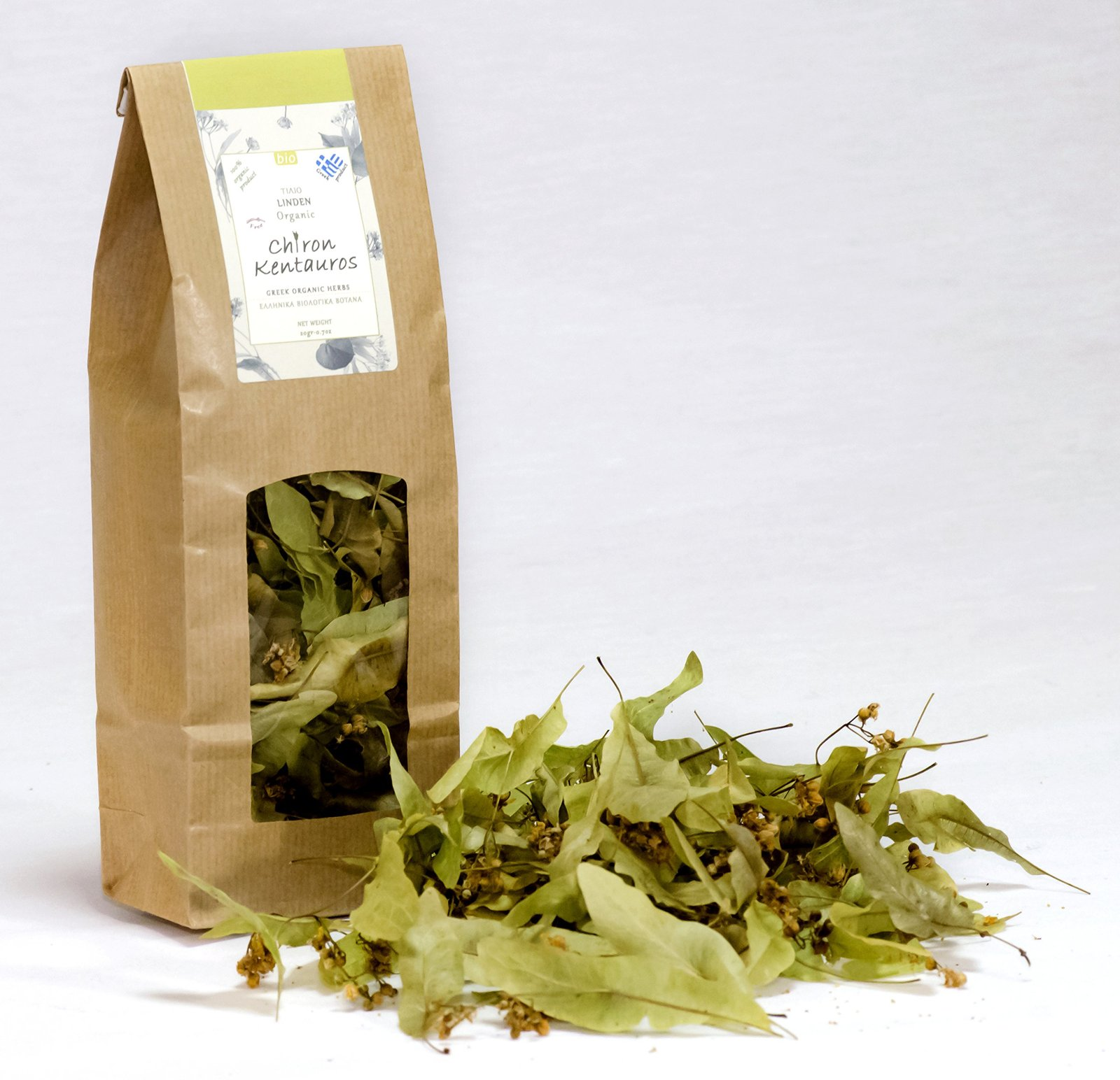 Primary image for Bio Organic Linden / Tilia Herb from Mount Pelion Greece - GMO / Caffeine Free