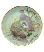 Limoges Gamebirds of the World Common Partridge Plate Basil Ede Bird Plate - $45.15