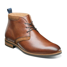 Florsheim Uptown Boot  Plain Toe Chukka Cognac Dressy Comfortable 15167-221 - €129,60 EUR
