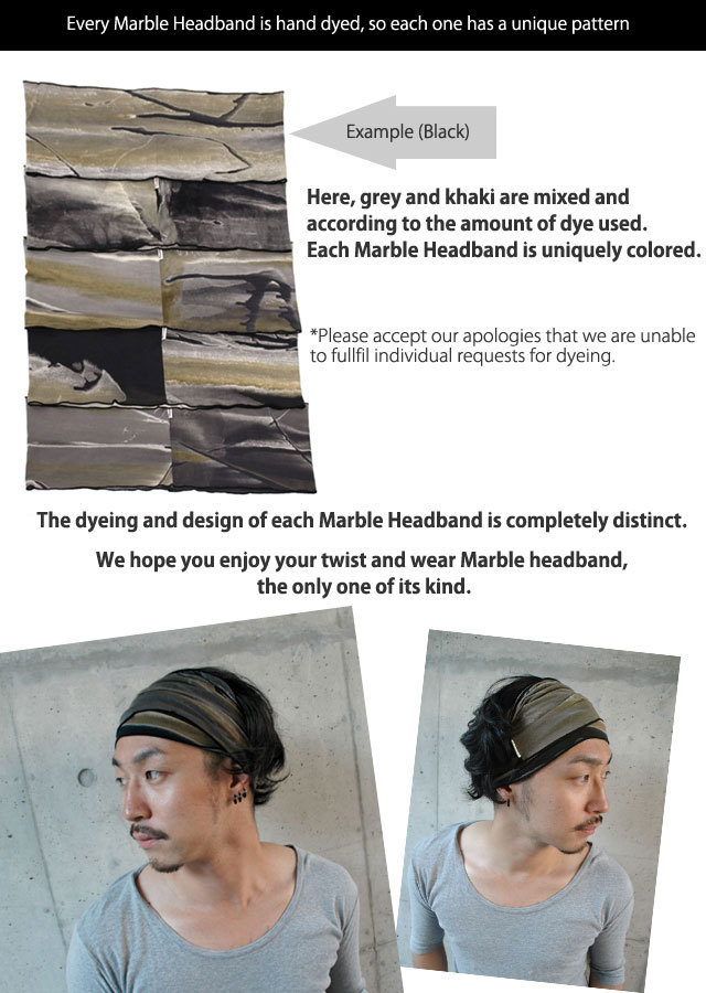 189f2a20731 Casualbox mens Elastic headband Hand Dyed Japanese Bandana Orange