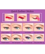 Quick Eyeliner Stickies – Schablonen für Augenlinie NEU kostenl. Lieferu... - $19.00