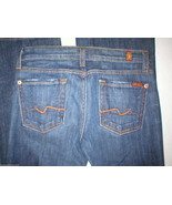 New York Dark Girls 7 for all Mankind Jeans 12 ... - $89.00