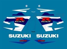Suzuki GSX-R 600 2004 K4 Blue version K5 2005 full decals set stickers kit - $84.00