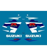 Suzuki GSX-R 600 2004 K4 Blue version K5 2005 full decals set stickers kit - $84.00