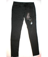 NWT Womens Juniors Zana Di Premium Jeans Black ... - $53.33