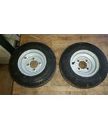 Taylor Dunn wheel and foam filled tire 480-8 5 lug - $39.00