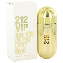 212 Vip by Carolina Herrera 2.7 oz EDP Spray Perfume for Women New in Box - $57.90