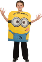 Despicable Me 2 Movie Minion Dave Tunic Child Costume Cartoons Funny Hal... - $564,00 MXN